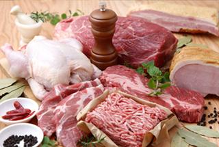 乾燥試験 肉
