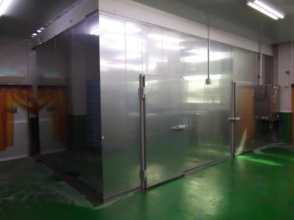 平行流タイプ低温乾燥庫