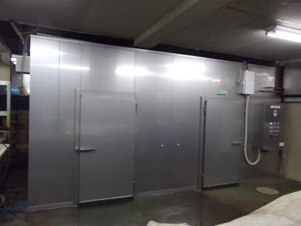 千葉県鴨川市 干物用低温乾燥機SA-D20型納入させて頂きました