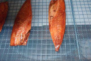 水産加工品 干物用サバみりん漬低温乾燥テスト