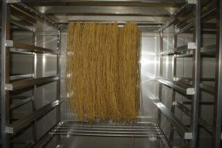加工食品 グルテンフリー 米粉パスタの低温乾燥テスト