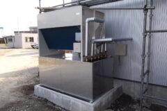 ジビエ 鹿肉 ペットフード用低温乾燥機 反転流式SA-D20N型 新規設置