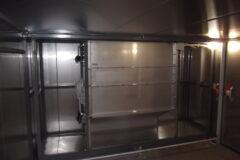 フカヒレ用低温乾燥機 平行流式SA-D20型 撤去入替設置